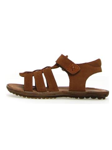 """Naturino Leren sandalen """"Summer Bands"""" bruin"""