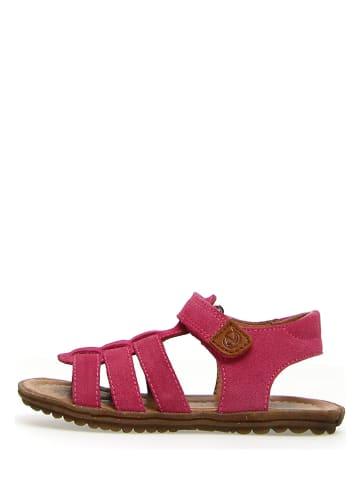 """Naturino Leder-Sandalen """"Summer Bands"""" in Pink"""