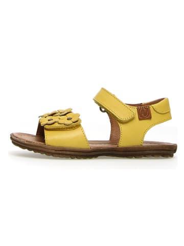 "Naturino Leren sandalen ""Spring"" geel"