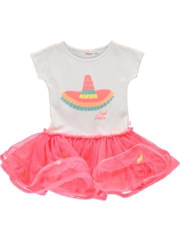 Billieblush Sukienka w kolorze biało-różowym