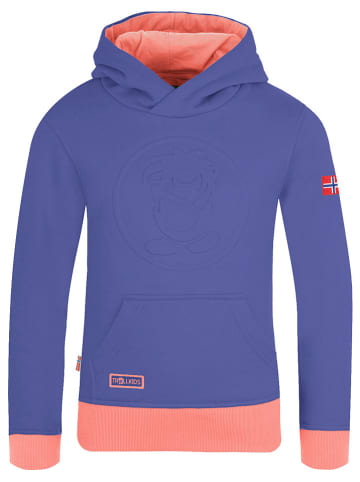 "Trollkids Sweatshirt ""Lillehammer"" paars"