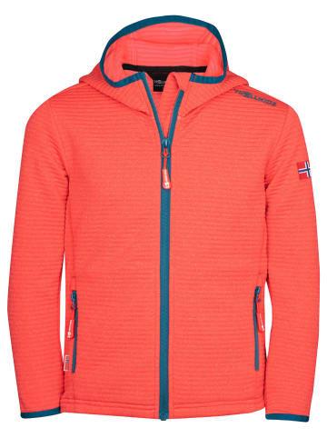 "Trollkids Fleece vest ""Sogndal"" oranje"