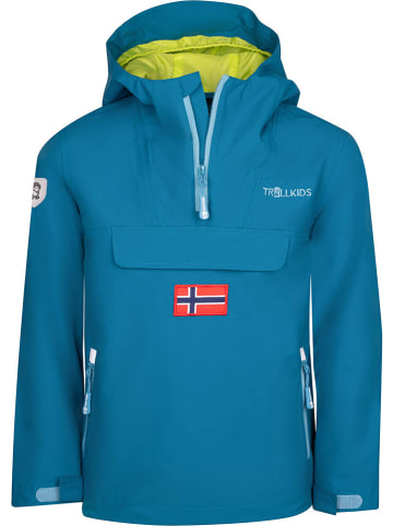 "Trollkids Functionele parka ""Bergen"" blauw"