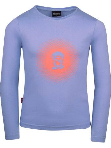"""Trollkids Koszulka funkcyjna """"Pointillism"""" w kolorze fioletowym"""