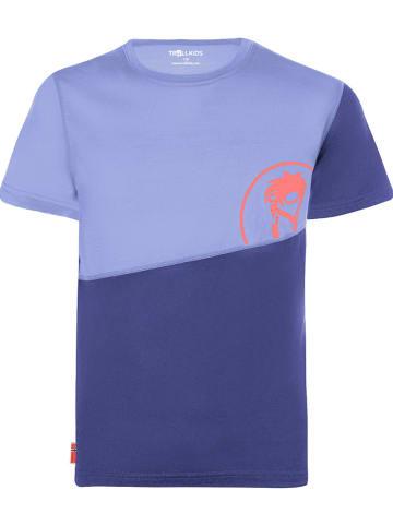 "Trollkids Functioneel shirt ""Sandefjord"" blauw"