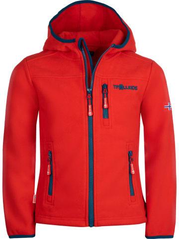 "Trollkids Fleece vest ""Stavanger"" rood"