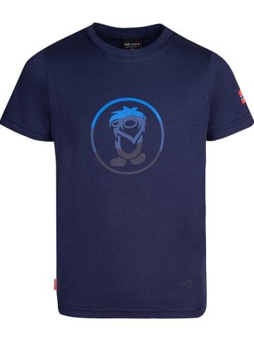 "Trollkids Functioneel shirt ""Summer Troll"" donkerblauw"
