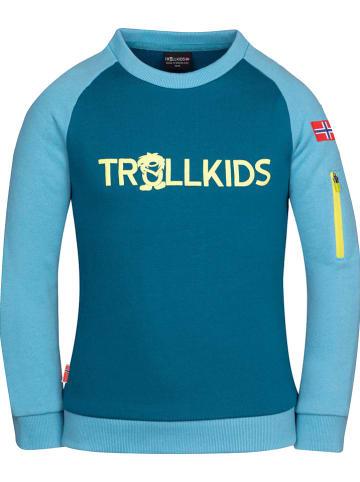 "Trollkids Sweatshirt ""Sandefjord"" blauw"