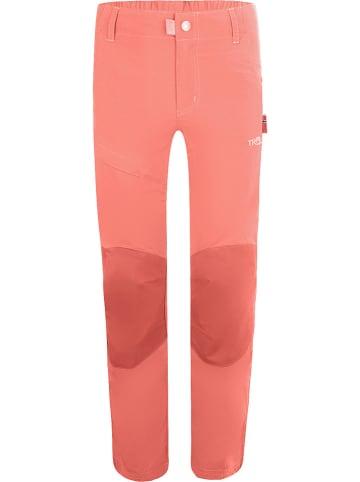 """Trollkids Spodnie funkcyjne """"Hammerfest Pro"""" - Slim fit - w kolorze jasnoróżowym"""