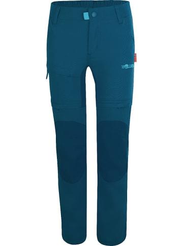 """Trollkids Spodnie funkcyjne """"Arendal XT"""" w kolorze niebieskim"""