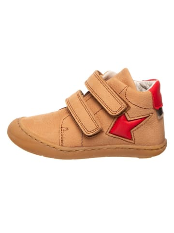 BO-BELL Skórzane sneakersy w kolorze karmelowym