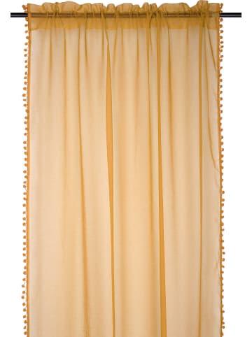 """STOF France Zasłona """"Anya"""" w kolorze żółtym - 260 x 135 cm"""