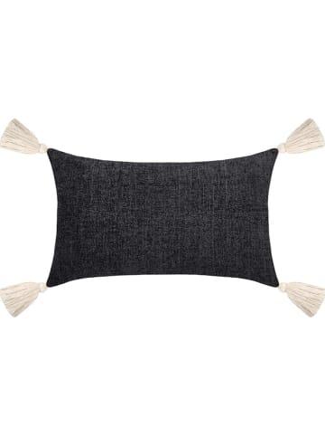 """STOF France Kussen """"Chila"""" zwart - (L)50 x (B)30 cm"""