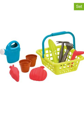 Écoiffier 10-delige set: tuinmand met accessoires - vanaf 18 maanden