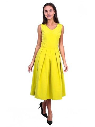 TATUUM Sukienka w kolorze cytrynowym