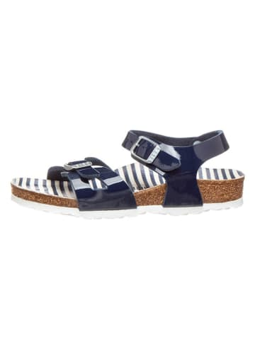 """Birkenstock Sandalen """"Rio"""" donkerblauw - wijdte S"""