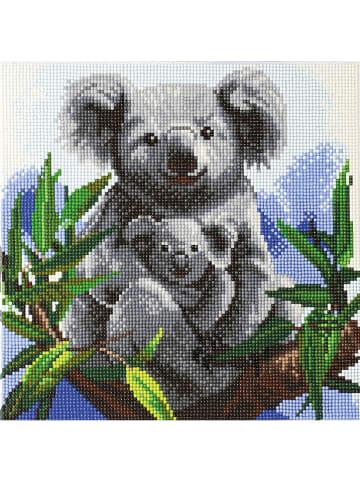 """DIY Crystal Art Kit Kristallkunst-Set """"Kuschelige Koalas"""" - ab 6 Jahren"""