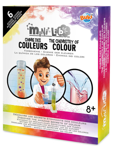 "Buki France Experimentierset ""Mini-Laborraum - Farbexperimente"" - ab 8 Jahren"
