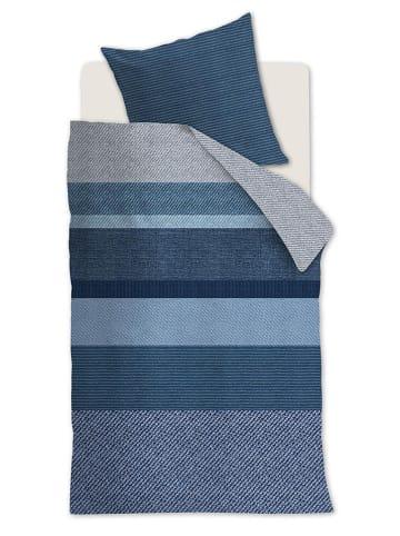 """Beddinghouse Komplet pościeli """"Marne"""" w kolorze niebieskim"""