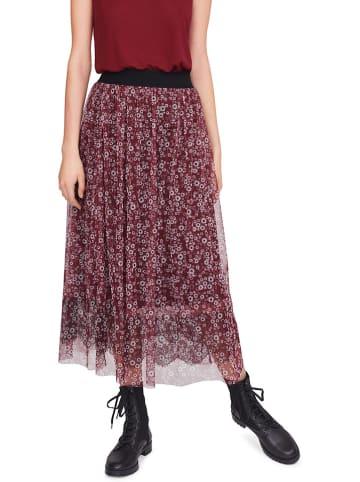 RIANI Spódnica w kolorze bordowym