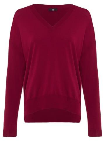 RIANI Sweter w kolorze czerwonym