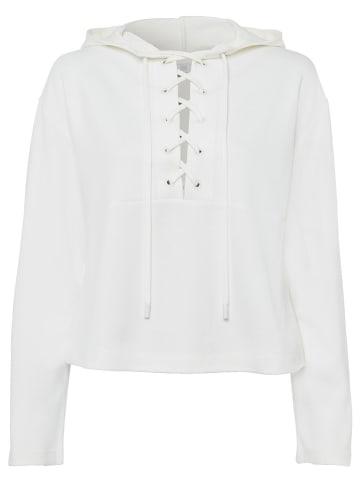RIANI Bluza w kolorze białym