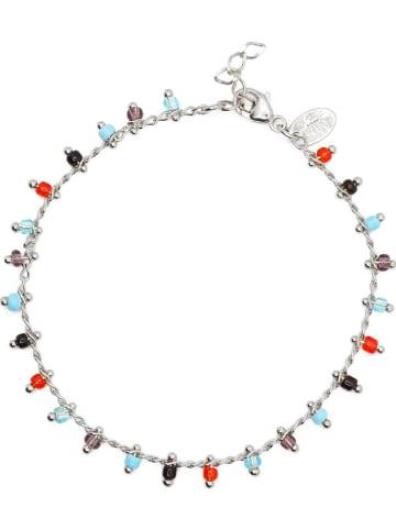 Nilaï Silber-Armkette mit Schmuckelementen