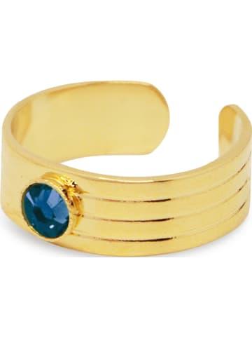 Nilaï Vergold. Ring mit Swarovski Kristall