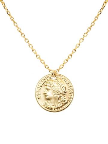 Nilaï Vergold. Halskette mit Anhänger - (L)40 cm
