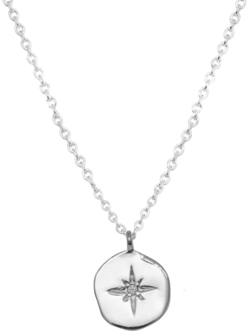 Nilaï Silber-Halskette mit Anhänger - (L)45 cm