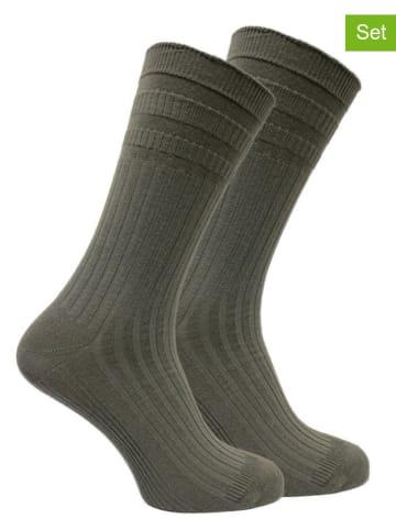 Norfolk 8-delige set: sokken grijs