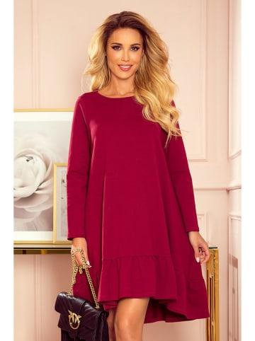 Numoco Sukienka w kolorze bordowym