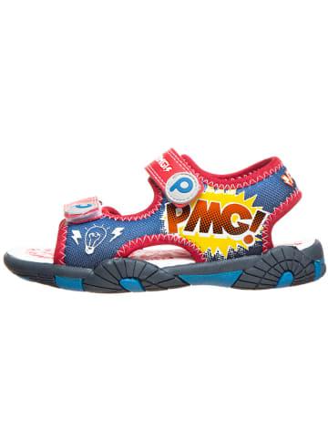 Primigi Sandały w kolorze czerwono-niebieskim