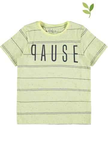 """Name it Koszulka """"Dusan"""" w kolorze żółtym"""