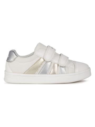 """Geox Sneakersy """"Dj Rock"""" w kolorze białym"""