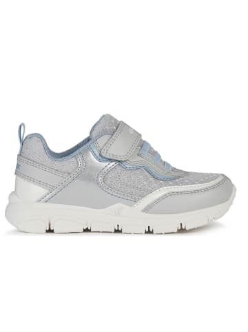 "Geox Sneakersy ""Torque"" w kolorze szaro-srebrnym"