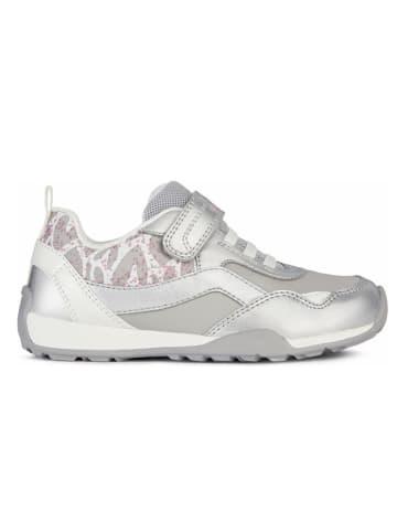"""Geox Sneakers """"Jocker"""" in Silber"""