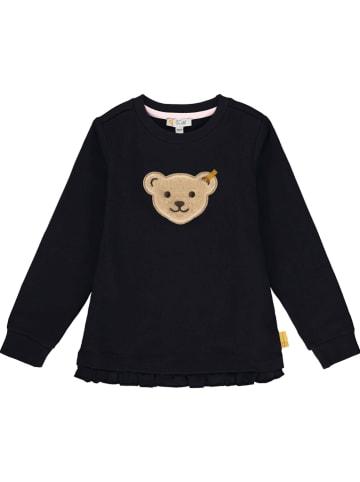 Steiff Sweatshirt in Schwarz