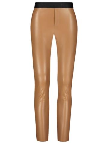 ONE MORE STORY Spodnie w kolorze karmelowym