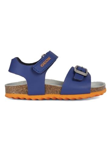 """Geox Sandalen """"Chalki"""" blauw"""
