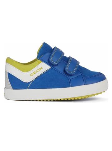 """Geox Sneakers """"Gisli"""" blauw"""