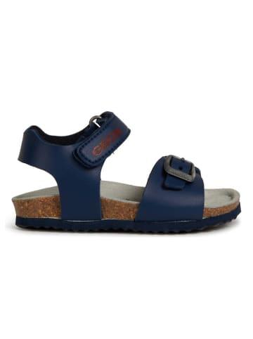 "Geox Sandalen ""Chalki"" donkerblauw"