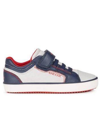 "Geox Sneakers ""Gisli"" in Dunkelblau/ Weiß"