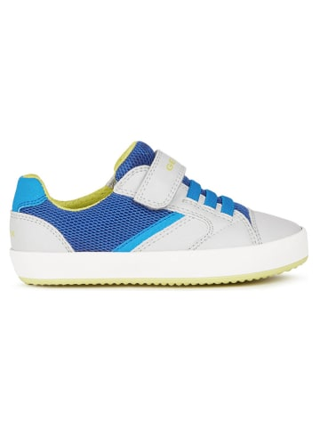 """Geox Sneakersy """"Gisli"""" w kolorze niebiesko-szarym"""