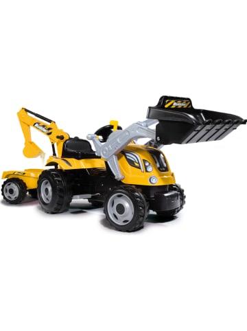 """BIG Traptractor """"Builder Max"""" geel - vanaf 3 jaar"""