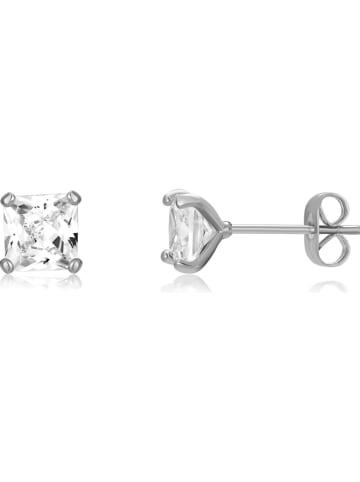 METROPOLITAN Oorstekers met Swarovski-kristallen