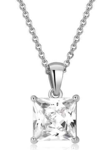 METROPOLITAN Ketting met Swarovski-kristal - (L)42 cm