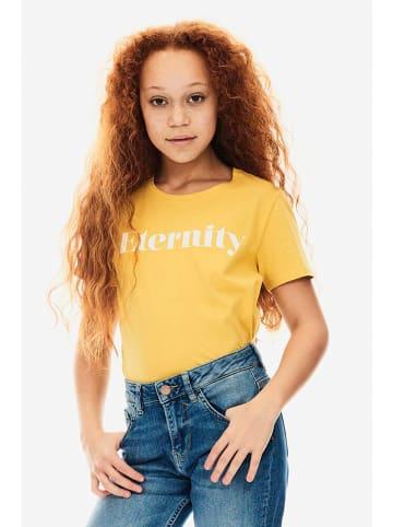 Garcia Koszulka w kolorze żółtym