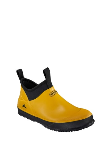 Viking Kalosze w kolorze żółto-czarnym