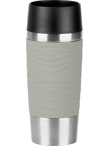 "Emsa Isoleerbeker ""Travel Mug"" grijs - 360 ml"
